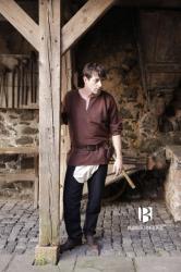 Hose - Bruche Brandolf mit Beinlingen – schwarz - Burgschneider