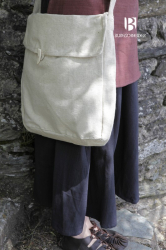Tasche - Baumwolle - Umhängetasche/ Brotbeutel Ehwaz - braun - Burgschneider