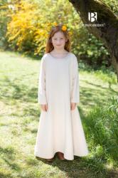 Kinder - Unterkleid Ylvi - natur oder bordeaux