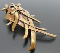 Anhänger - nordisch - Odins Maske - Bronze - letzter Artikel