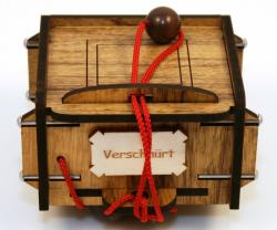 Geduldspiel - Verschnürt Box - Trickkiste