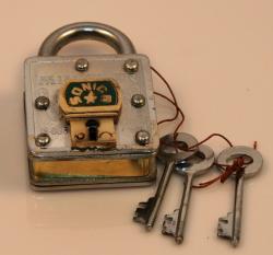 Geduldspiel - Pin Trick Lock - Trickschloss