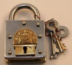 Geduldspiel - Side Trick Lock - Trickschloss