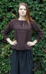 Bluse LC - 2026 Damen, lange Ärmel & Bündchen - verschiedene Farben