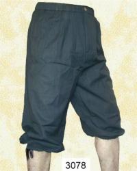 Hose LC - 3078 Kniebundhose zum Schnüren