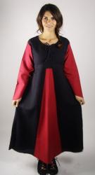 Kleid LC - 4048 Kleid Trompetenärmel Baumwolle