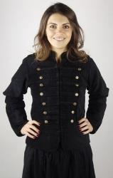Uniformjacke LC - 6030 Emilia aus Samt - Gewandung - Verkleidung - LARP - Karneval - Fasching