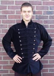Uniformjacke LC - 6039 Bodo aus Samt - Gewandung - Verkleidung - LARP - Karneval - Fasching