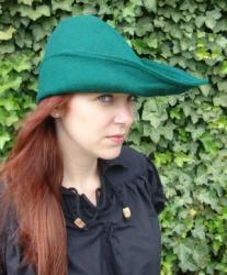 Robin Hood Hut aus Wolle in verschiedenen Farben - unisex