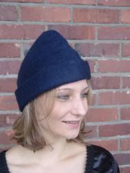 Rustikaler Hut aus Filz in verschiedenen Farben - unisex