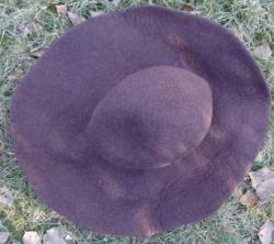 Schlapphut aus Filz in verschiedenen Farben - unisex