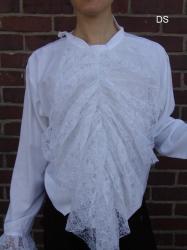 Hemd LC - Spitze aus Viskose - unisex - verschiedene Farben