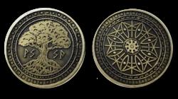 Larp Münzset - FantasyCoins - Element Erde - 30 Stück