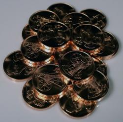 Larp Münzset* 01 - wohlhabender Bauer