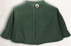 Pelerine MT - Wolle - grün