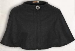 Pelerine MT - Wolle - schwarz