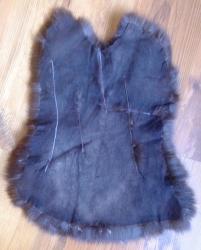 Felle - Kaninchen - gefärbt - dunkelbraun - ab 7,50€ pro Stück