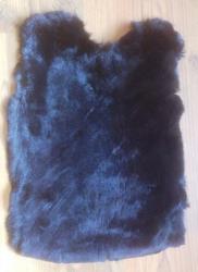 Felle - Kaninchen - gefärbt - schwarz - ab 6,25€ pro Stück