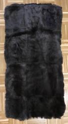 Felle - Felltafel - Kaninchen dunkelbraun glatt - 60cm x 120cm - ab 30€