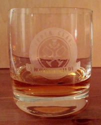 Whisky Glas - Upper Glass - Whisky Gilde - inkl. Gravur
