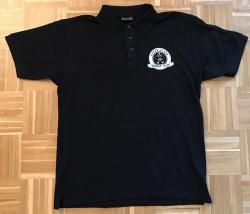Polo-Shirt - Upper Glass - Whisky Gilde - Größe L - schwarz