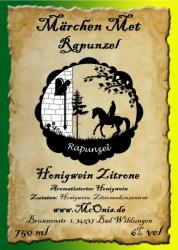 Märchen-Met - Rapunzel - Zitrone