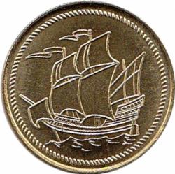 Larp Münze* - Seefahrer - Gold*