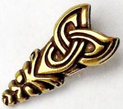 Schnallenset Wikinger - für 2cm Gürtel - bronze