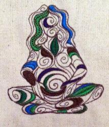 Umhänge- Tasche natur - Gaia/ Mutter Erde