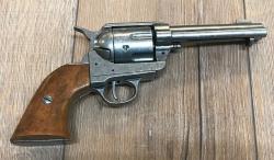 Waffen Deko - Pistole - Colt 45er Peacemake- grau - Dekoration - LARP - Theater